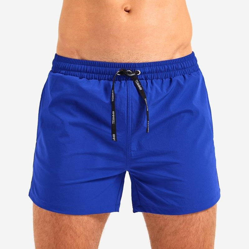 "Teamm8 Volley 4"" short blue"