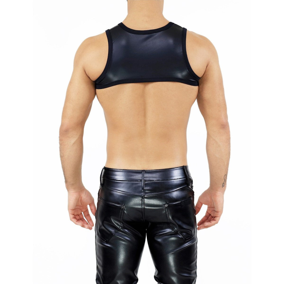 TOF Deri harness black