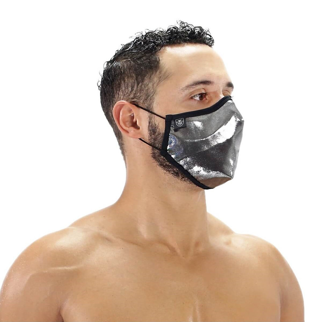 TOF Fetish seamless face covering + 2 filters black