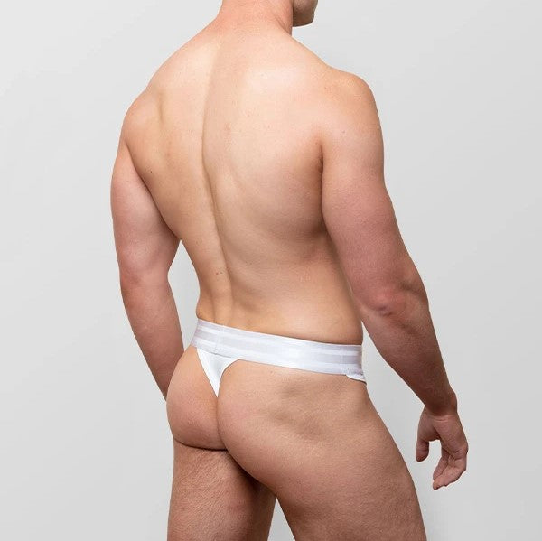 Varsity Field mesh thong white