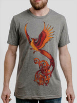 Curbside Phoenix slim fit t-shirt grey