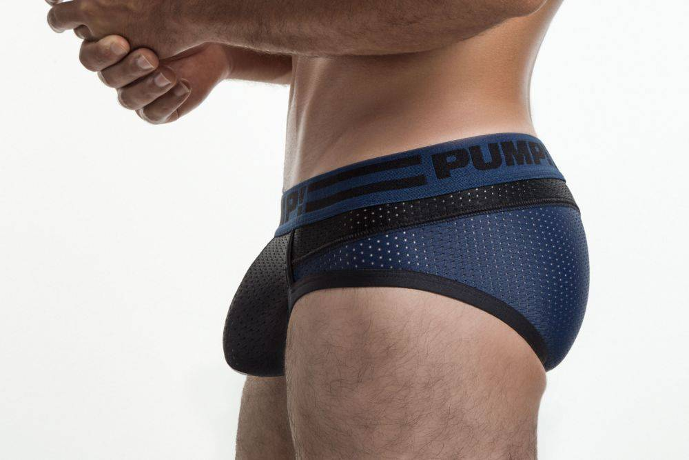 PUMP Midnight mesh brief