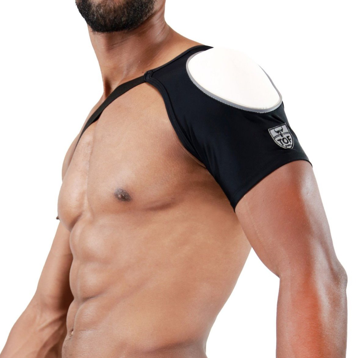 TOF Shoulder harness white