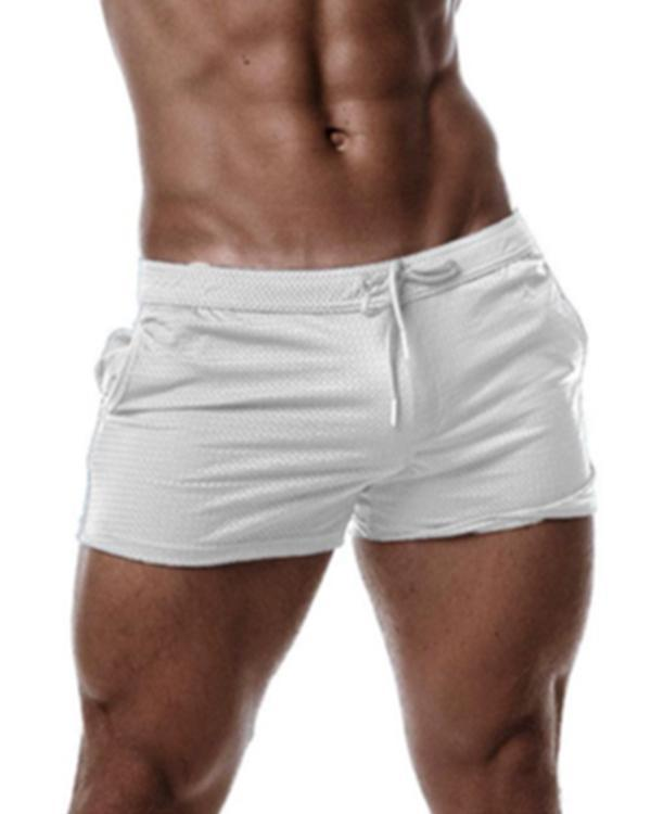 DJX Trough short mesh white