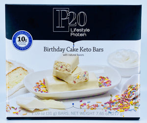 Birthday Cake Keto Bars New Product