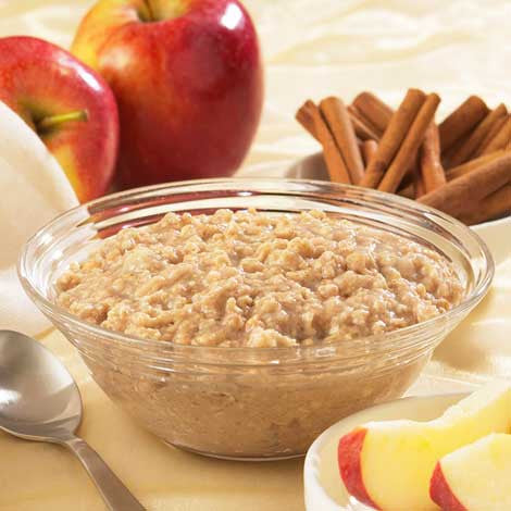 Apples & Cinnamon Oatmeal