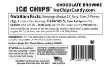 Nutrition Facts & Ingredients Chocolate Brownie Ice Chips Candy