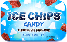 Chocolate Brownie Ice Chips Candy Tin