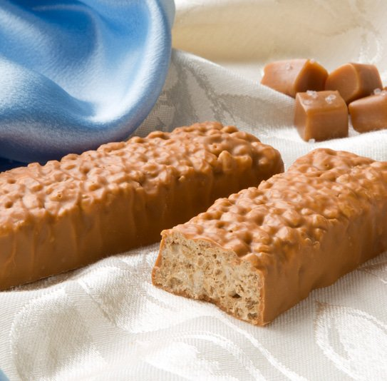 Caramel Sea Salt Bars
