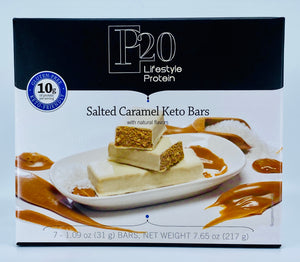 P20 Lifestyle Protein Salted Caramel Keto Bars