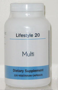 Lifestyle 20 Multi 120 Vitamin