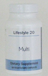 Lifestyle 20 Multi - 60 vegetarian caps