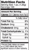 Nutrition Facts & Ingredients Zellie's Fresh Fruit 100ct. Gum Jar