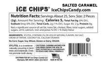 Nutrition Facts & Ingredients Salted Caramel Ice Chips Candy