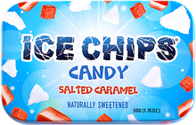 Salted Caramel Ice Chips Candy Tin