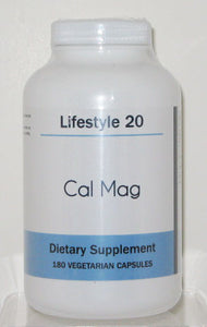 Lifestyle 20 Cal Mag Dietary Supplement