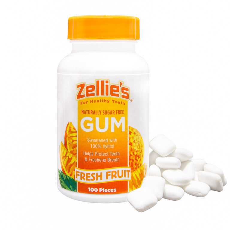 Zellie's Fresh Fruit 100ct. Gum Jar