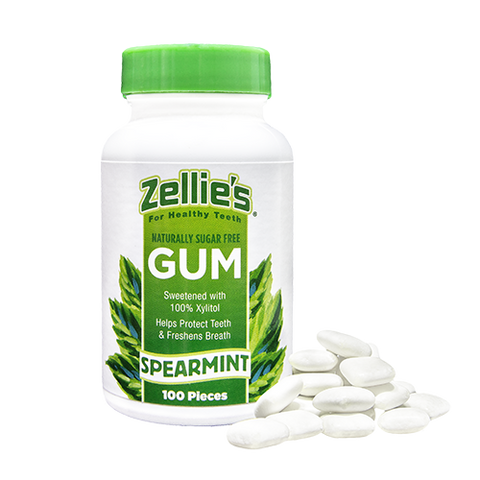 Zellie's Spearmint 100ct. Gum Jar