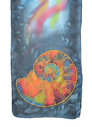 "Ammonite Scarf | 8"" x 54"""
