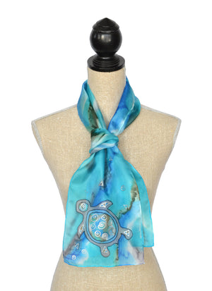 "Cave Turtle Scarf | 8""x54"""