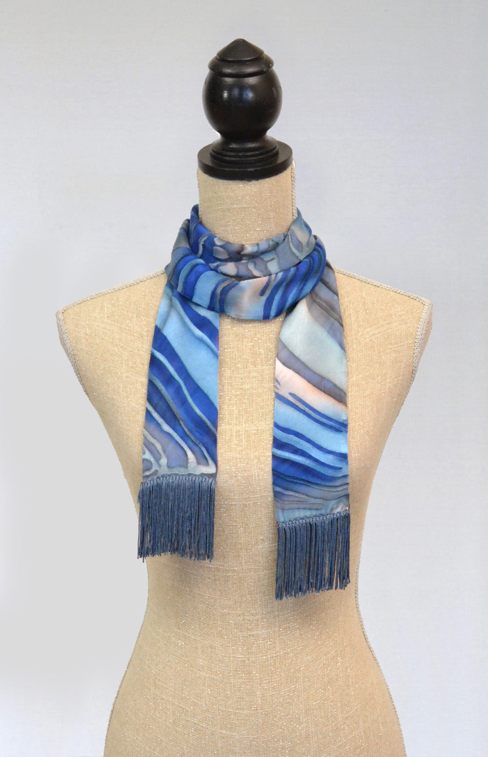 Skinny Fringed Scarf | Clearance