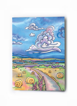 "Country Road Art Card | 5"" x 7"""