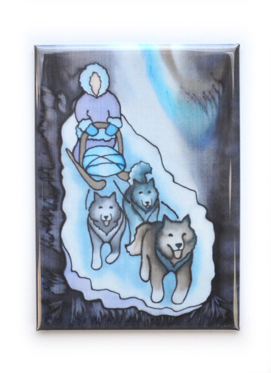 """Mushing"" Magnet 