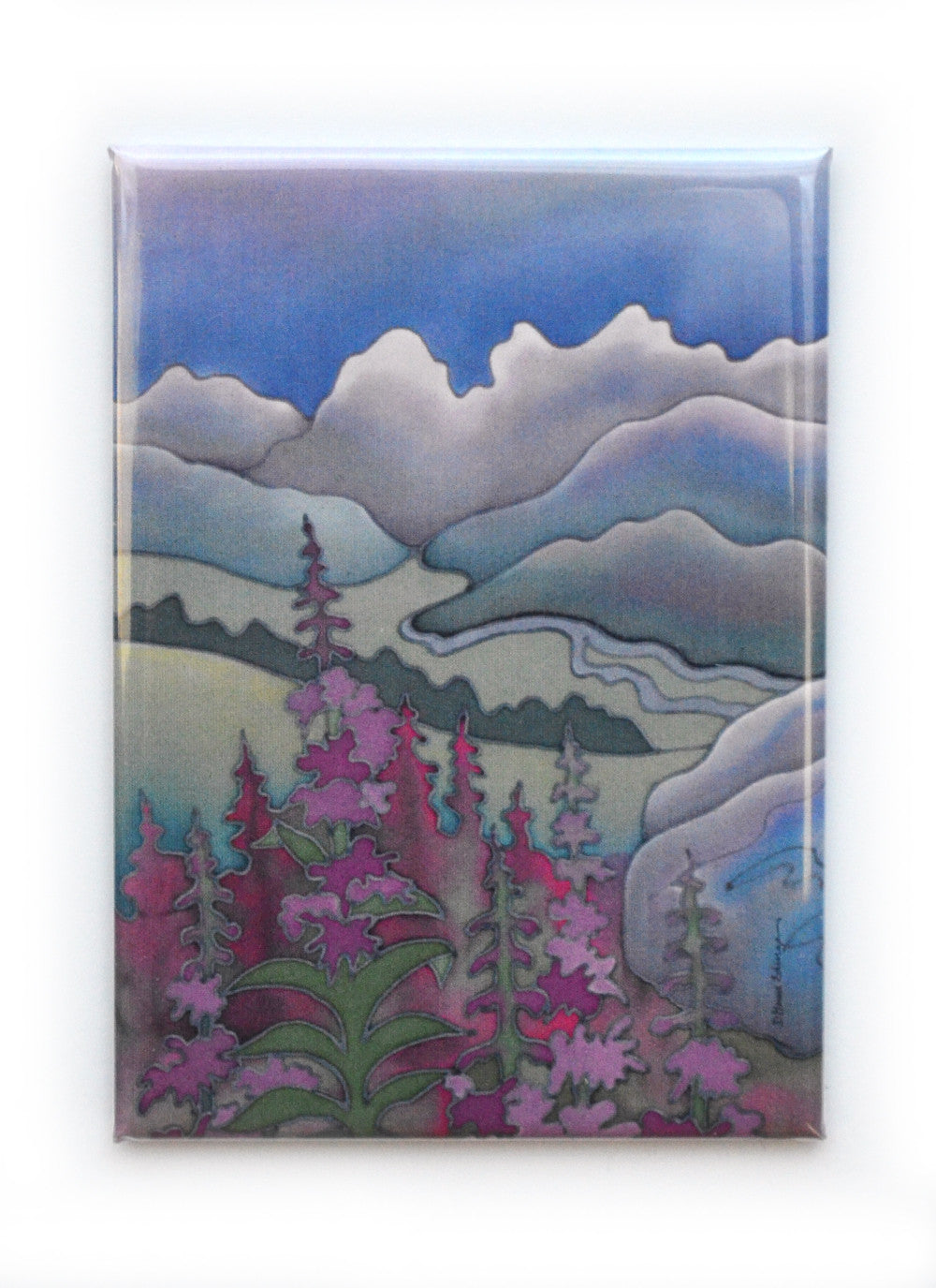 "Fireweed Magnet | 2.5""x3.5"""