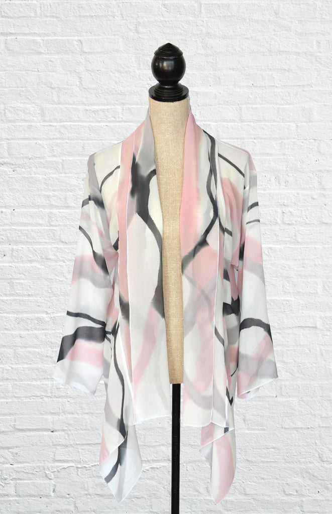 "Chiffon Silk ""Goddess"" Jacket 