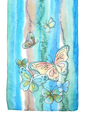 "Butterfly Scarf | 11""x60"""