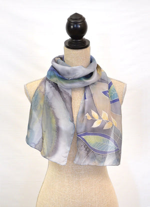 "Leaves Scarf | 11""x60"""