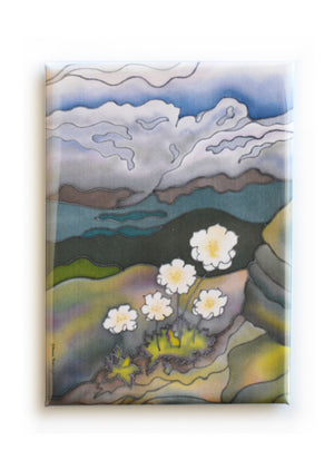 "Mountain Avens Magnet | 2.5""x3.5"""