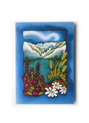 "Mountain Flowers Art Card | 5"" x 7"""