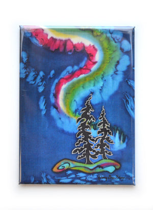 "Northern Lights Magnet | 2.5""x3.5"""
