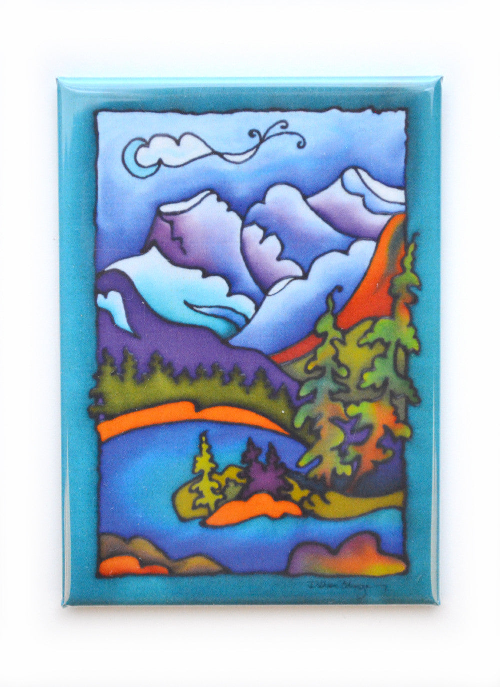 "Rocky Mountain Vistas 1 Magnet | 2.5""x3.5"""