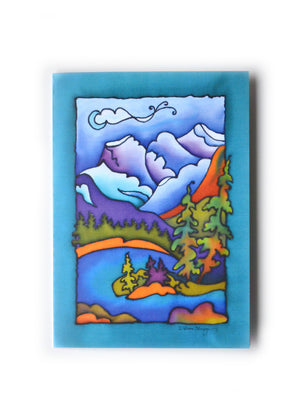 "Rocky Mountain Vista 1 Art Card | 5"" x 7"""