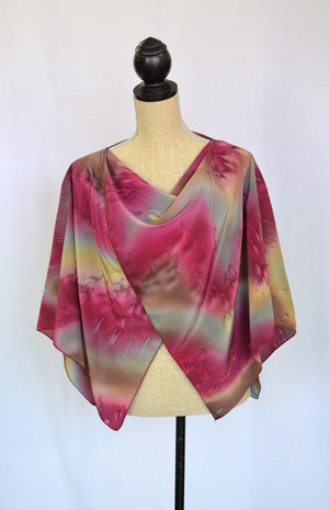 Twisted Crepe de Chine Shawl