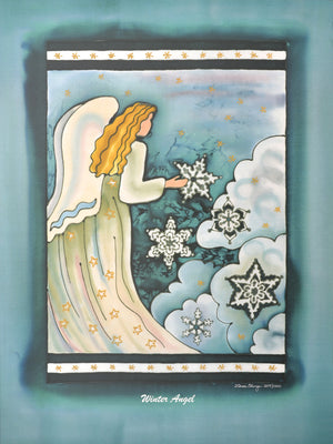 "Winter Angel - Limited Edition Print | 18""x24"""