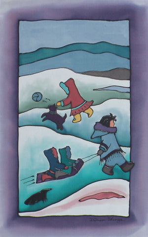 "Inuit Children Print | 11""x14"""