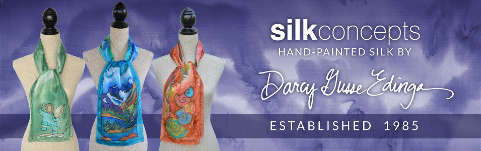 Silk Concepts Hand-Painted Silk - Established 1985