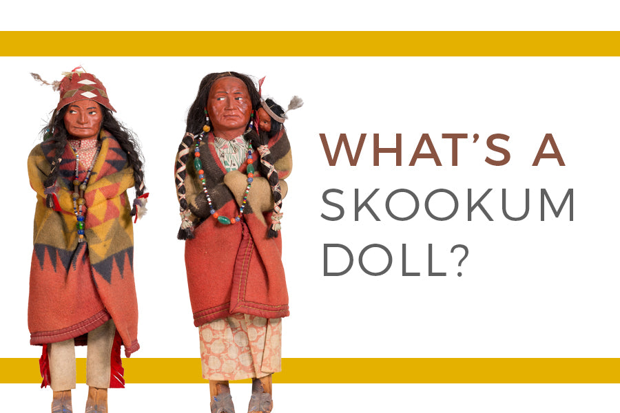 Dating skookum dolls values