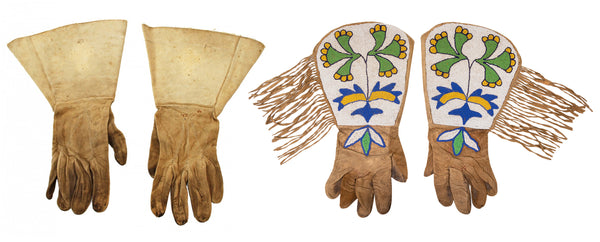 Authentic Western Gauntlets