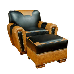 Western Leather Armchair
