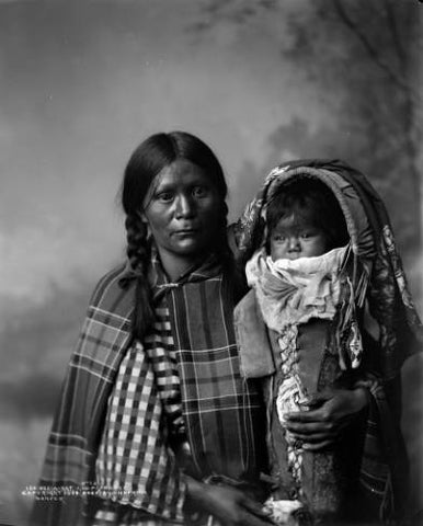 Native American Baby with Fetish