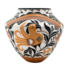 Acoma Jar with Parrot Design