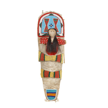 American Indian  crow, doll cradleboards, dolls, sam's pick  Crow Child's Cradleboard