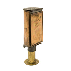 Brass and Copper Candle lamp