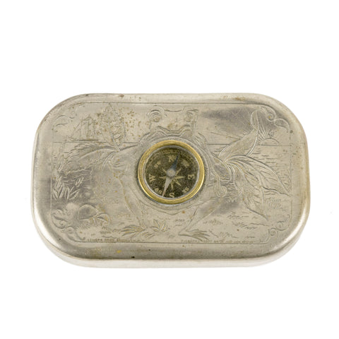 A Frog and a Compass smoking, tobacco tin