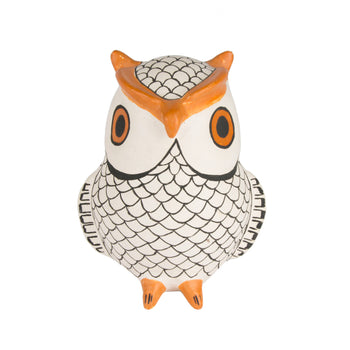 American Indian  acoma, owls, pottery, pottery-historic  Acoma Owl