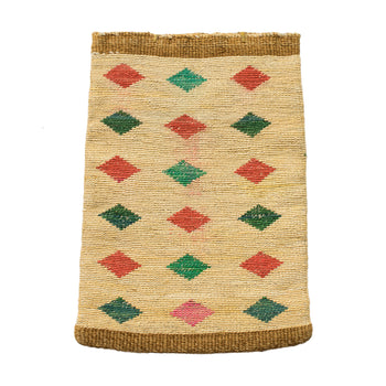 American Indian  baskets, cornhusks, nez perce  Bright Nez Perce Cornhusk